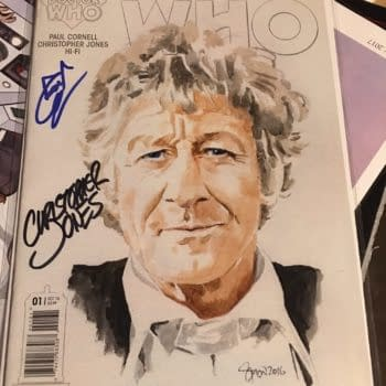 This Doctor Who Comic Is Paul Cornell's Last Licensed Work – Gallifrey One 2017