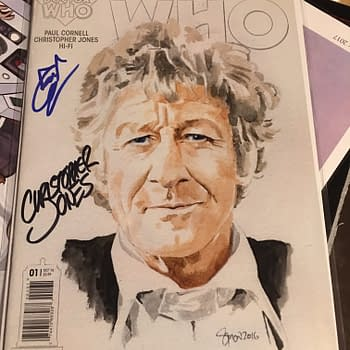 This Doctor Who Comic Is Paul Cornells Last Licensed Work &#8211 Gallifrey One 2017