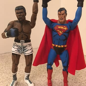 Superman Fights Muhammad Ali One More Time For NECA