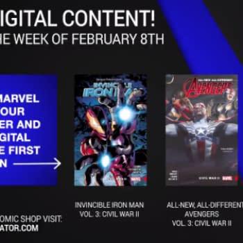 "Marvel Reveals Next Week's ""Bonus"" Digital Content, Including More Civil War 2 Plus Cloak and Dagger"