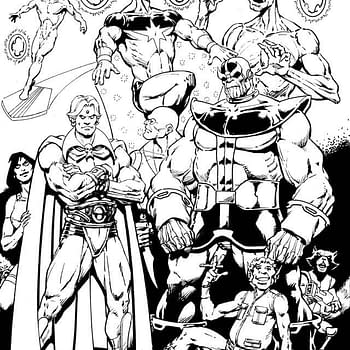 Jim Starlin Draws Thanos Groot Adam Warlock And More For Charity