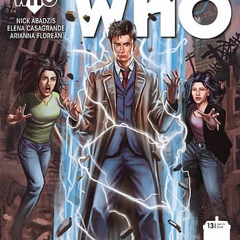 Discussing The 10th Doctor With Nick Abadzis