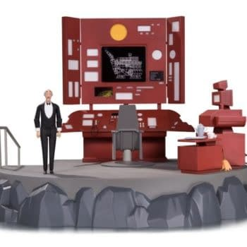 DC Collectibles Have Made A Batcave Vignette From Batman: The Animated Series