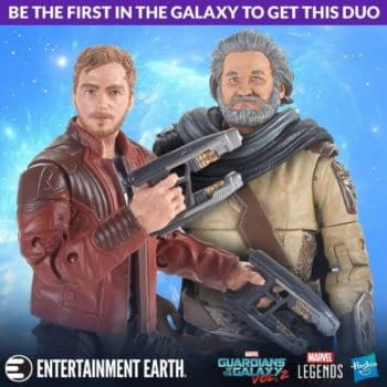 This Time You Can Really See What Kurt Russell's Ego Looks Like In GOTG2 Via Marvel Legends 2-Pack From Toy Fair