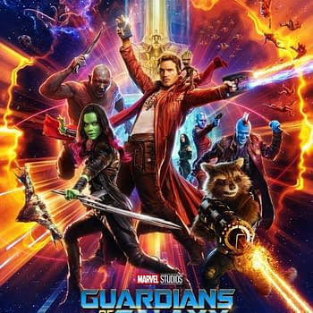 Speaking of Guardians Of The Galaxy See Also This Bright Shiny New Poster