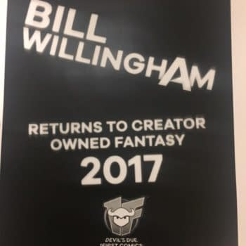 Bill Willingham Returns To Creator Owned Fantasy With 1First/Devil's Due In 2017, Announcing At ComicsPRO