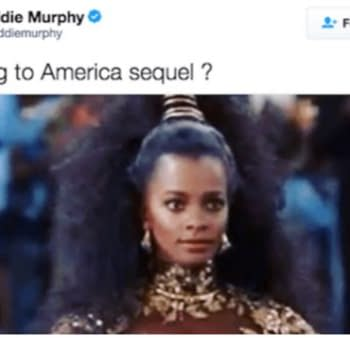 Report: Eddie Murphy In Early Stages Of Working On Coming To America Sequel