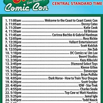 The Coast-To-Coast Live-Streaming Comic Con Is On&#8230 Are You Watching #C2Ccon2017