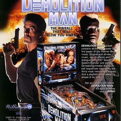 There Was No Bang In This Machine: Demolition Man Pinball