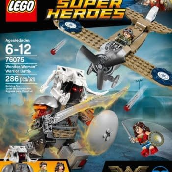 Once Again, LEGO Gives First Look At Superhero Movie Character – Wonder Woman's Ares