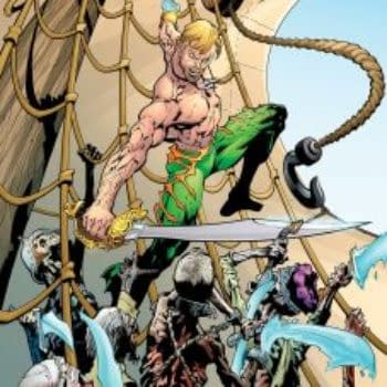 15 Years After Publishing Rick Veitch's Aquaman Vol 1, DC Comics Gets Round To Vol 2