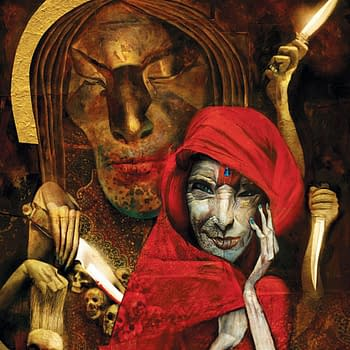 This Special Edition of Neil Gaimans American Gods Novel Illustrated by Dave McKean Is&#8230 Very Impressive