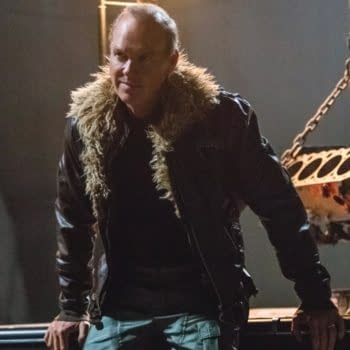 Vulture's Furry Collar Is Blue – New Image & Detail On Keaton's Adrian Toomes