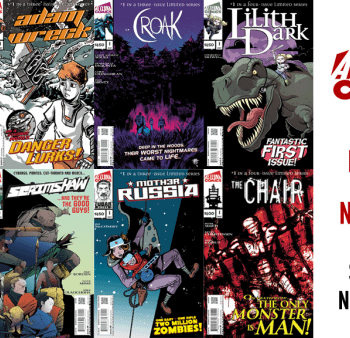 Alterna Launches Kickstarter For Newsprint Comics So Short You Almost Missed It