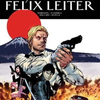 Writer's Commentary – James Robinson Talks Felix Leiter #3