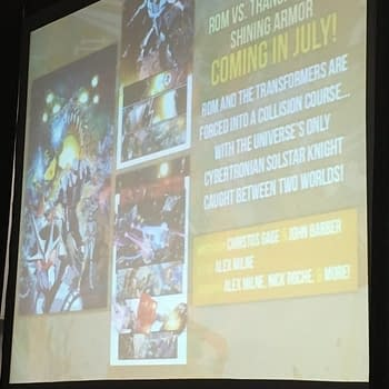 Coming In July… Rom Vs. Transformers: Shining Armor, From IDW