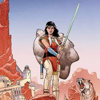 Gabriel Rodríguez New Comic From IDW Sword Of Ages Announced At Wondercon