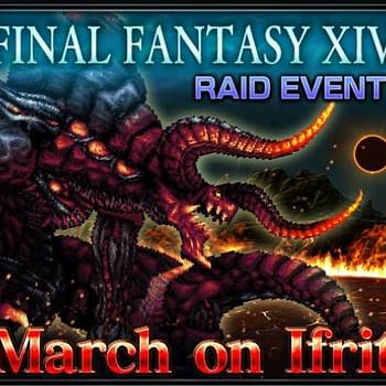Ready Or Not Ifrit Has Made His Way From FFXIV To Final Fantasy Brave Exvius Today