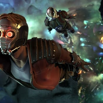 Starlord Takes On Thanos In The New Trailer For Telltales Guardians of the Galaxy
