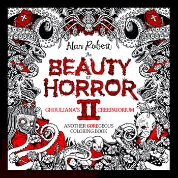 IDW To Release Beauty Of Horror II Coloring Book