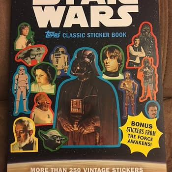Topps Vintage Star Wars Sticker Book Makes Me Want A Time Machine