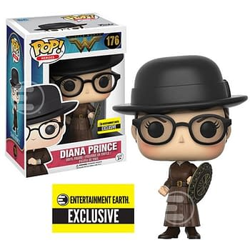 Diana Prince Funko Pop Goes Exclusive At Entertainment Earth