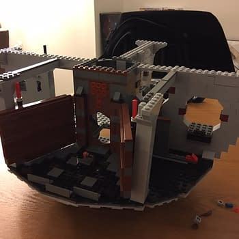 Building The LEGO Death Star Part 1- Heavy Boxes And Missing Pieces