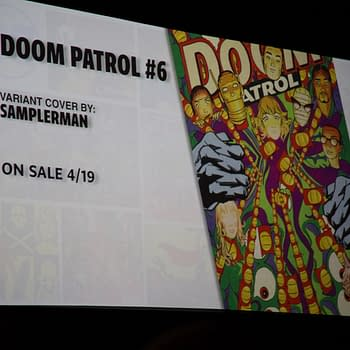 Gerard Way Announces Doom Patrol #7 Will Return In July &#8211 At Wondercon