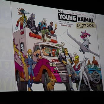 The Young Animal Mixtape With A 12 Gerard Way Disc And Much More At Wondercon Today
