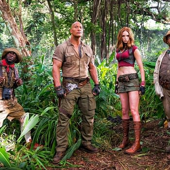 Nick Jonas Kevin Hart And The Rock Did A Jumanji Q &#038 A On Twitter