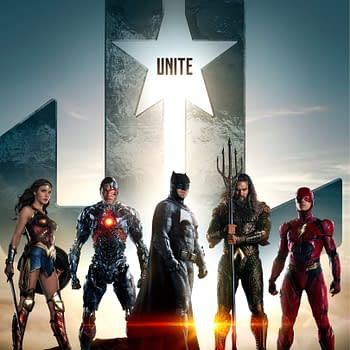 Bringing Them All Together &#8211 The Justice League Unit Poster