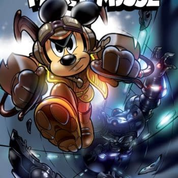 Mickey Cosplays As The Rocketeer To Save The Day: Mickey Mouse #18