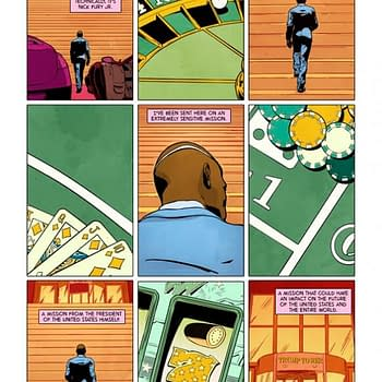 Improbable Previews: Secrets Of Trumps Wiretap Accusations Revealed In Nick Fury #1