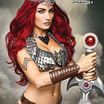 Exclusive Extended Previews Of Vampirella #1 Red Sonja #3 And Felix Leiter #3