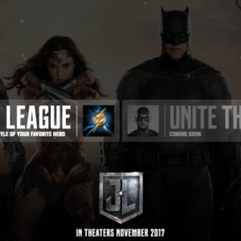"""Warner Bros Launches """"Unite The League"""" Site, Provides Highly Photoshop-able Justice League Image"""