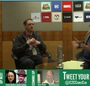 Ed Brisson Is The New Writer Of Old Man Logan &#8211 But Hasnt Actually Seen Logan Yet #C2Ccon2017