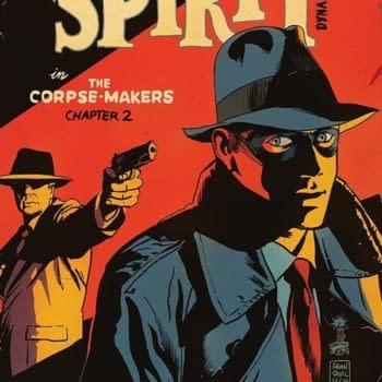 Feeling Blue? Francavilla Clearly Is As We Review The Spirit In The Corpse-Makers #2