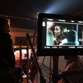 """Fox Proves X-Men Show """"Gifted"""" Not A Hoax With Photo Of Bryan Singer Directing Amy Acker"""