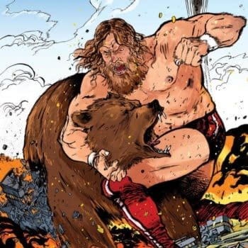 Daniel Bryan To Wrestle Bear Again On ECCC Exclusive Cover To WWE #1