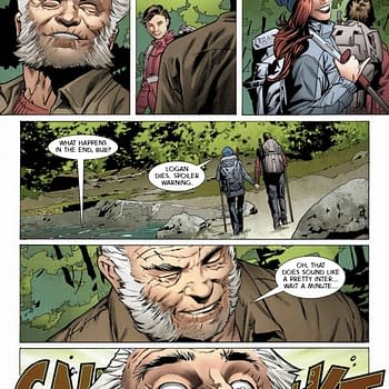 Improbable Previews: Logan Comes To Terms With His Past Present And Future In Weapon X #1