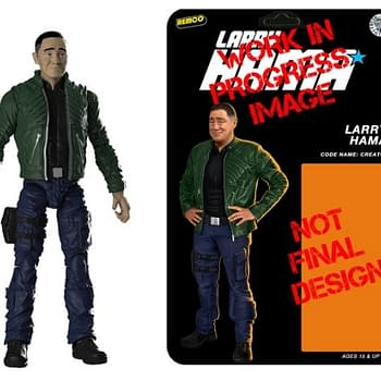 If Were Nitpicking This Kickstarter Is Actually For The SECOND Ever Larry Hama Action Figure