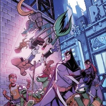 The Mad Hatter Wants To Control Your Mind: Batman/TMNT Adventures #5