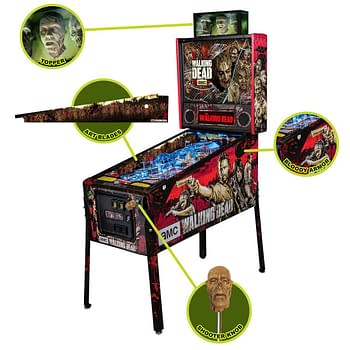 Finding Carl – The Walking Dead Pinball Machine