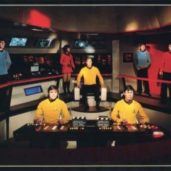 Hollywood Science Fiction Museum Seeks Fans Help Restoring Star Trek Bridge And Crew Wax Figures