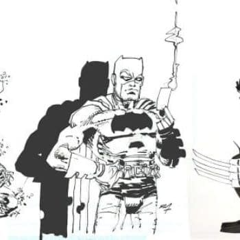 Hunt The Dark Knight, Logan And More — Frank Miller Art From His Own Archives Up For Sale At Big Apple Comic Con