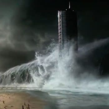The First Teaser For Geostorm Has Worldwide Destruction By Seas, Tornados, And Tidal Waves