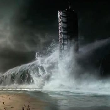 The First Teaser For Geostorm Has Worldwide Destruction By Seas Tornados And Tidal Waves