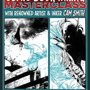 Still Some Places On The Comic Book Inking Masterclass By Cam Smith At Orbital Comics In London Next Friday