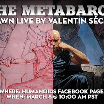 Valentin Sécher To Draw Live And Answer Questions About The Metabaron Book 3