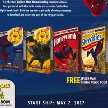 Marvel Outdone By Cereal Boxes As Post Announces Digital Comics Code Program